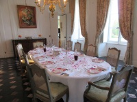 The dining room | Residential Cookery Courses