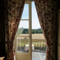 View from the bedroom   Residential Cookery Courses