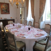 The dining room   Residential Cookery Courses