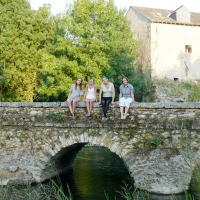 Stone bridge over the Loire River | Culinary Holidays in France