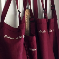 Aprons for cooking classes.