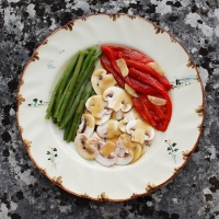Salade Tricolore | Cookery Courses in France