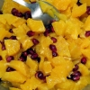 Orange Pomegranite Salade