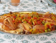 Moroccan Chicken (Poulet Marocain)